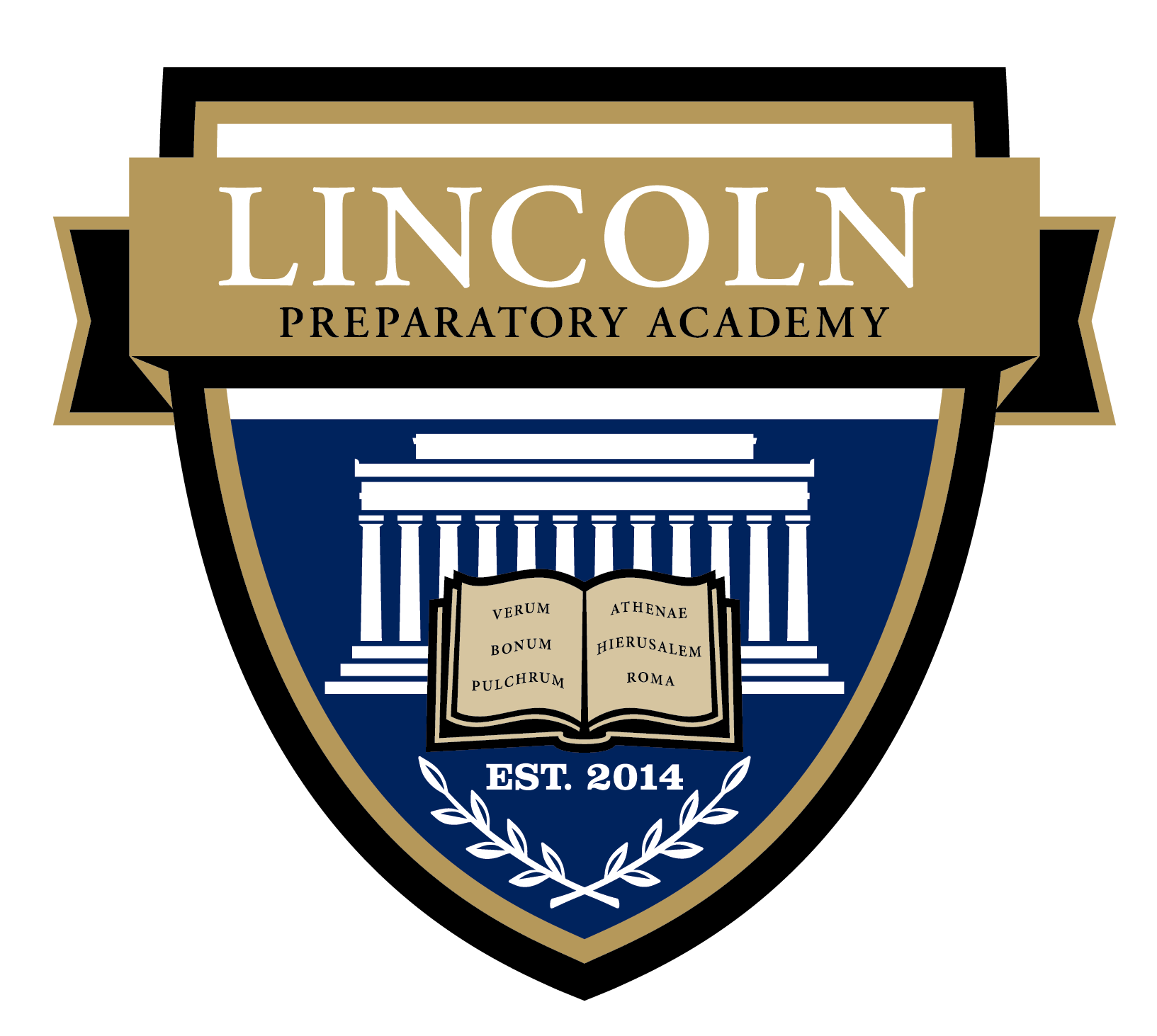 Great Hearts Lincoln Prep, Serving Grades 6-12  School Crest